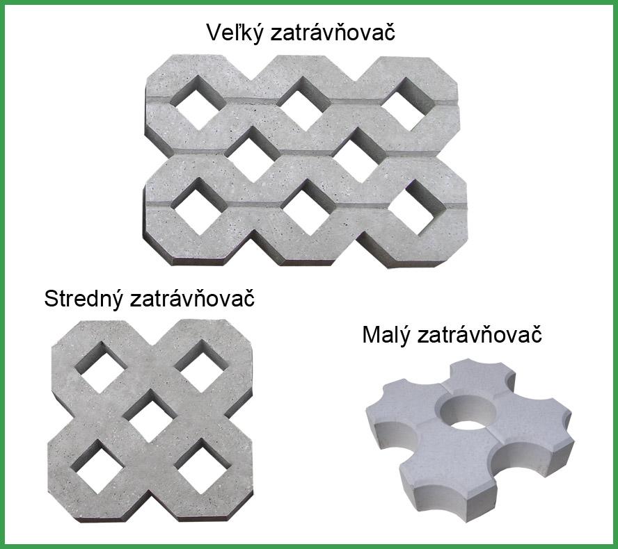 Formy na zatravnovace
